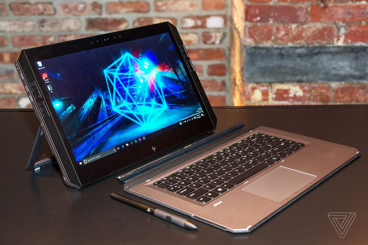 HP unveils 'world's first' detachable PC workstation, the ZBook x2