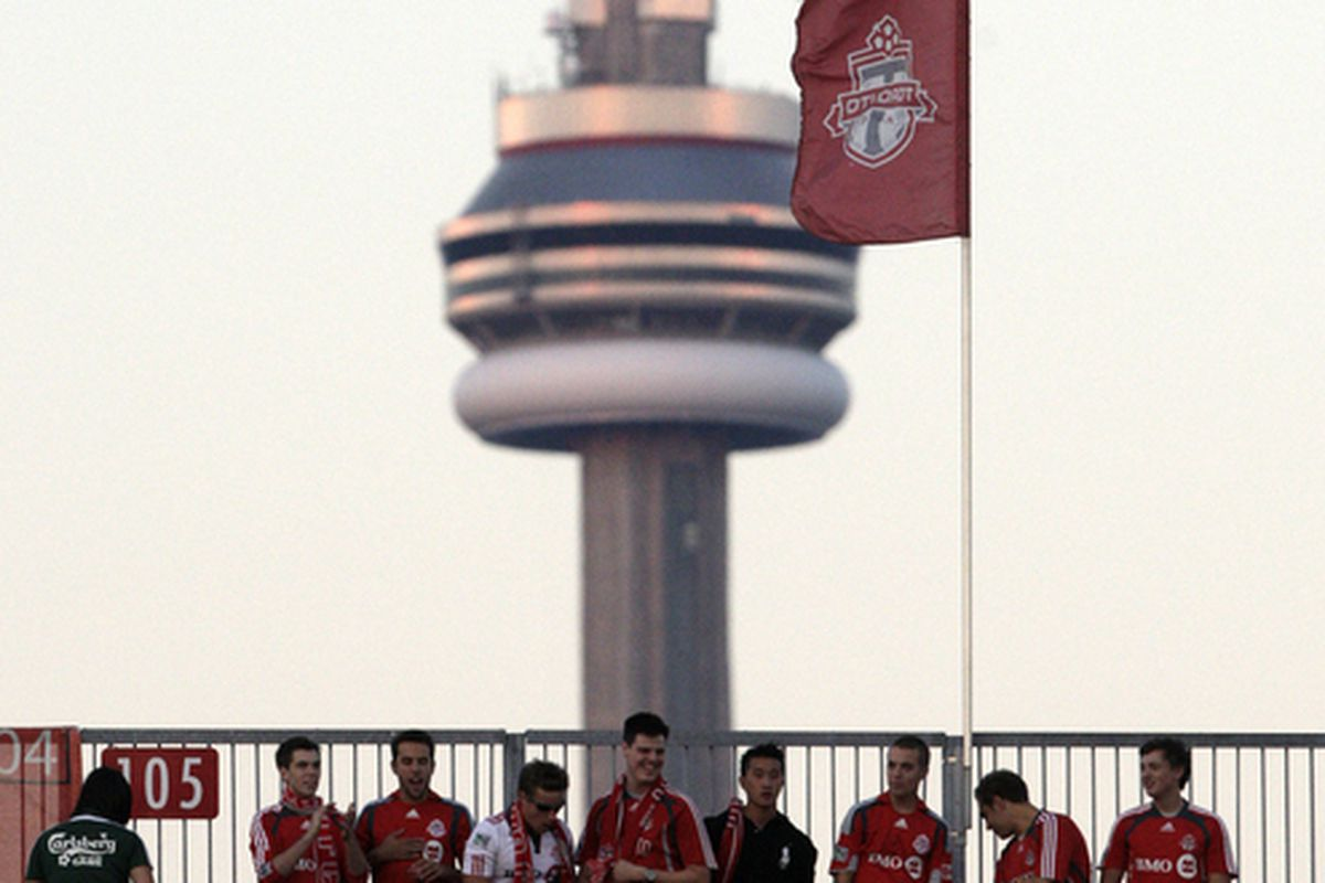 Would an expanded BMO Field ruin this iconic view of the CN Tower?