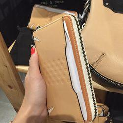 Devon Mobile zip wallet, $150 (was $350)