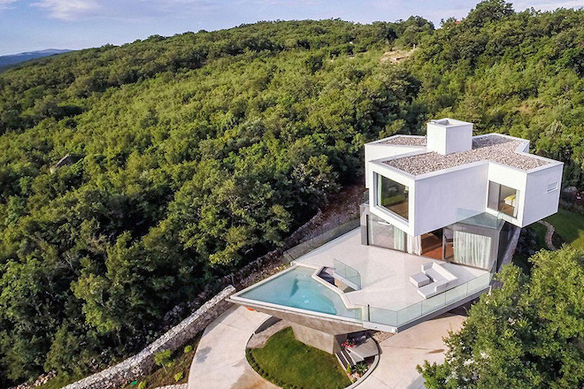 """Photo by Igor Crnkovic via <a href=""""http://www.designboom.com/architecture/idis-turato-architecture-gumno-house-croatia-12-17-2014/"""">Designboom</a>"""