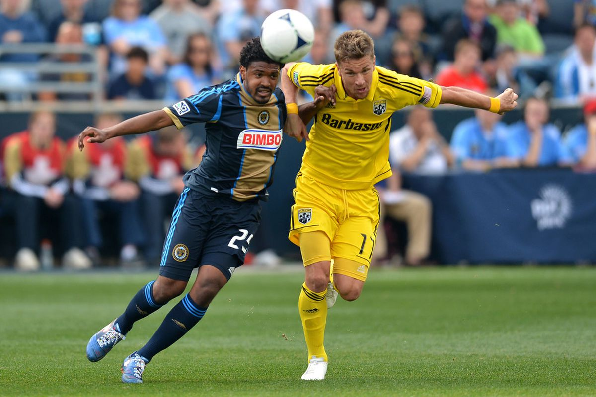Olman Vargas is the most recent Crew international call up.