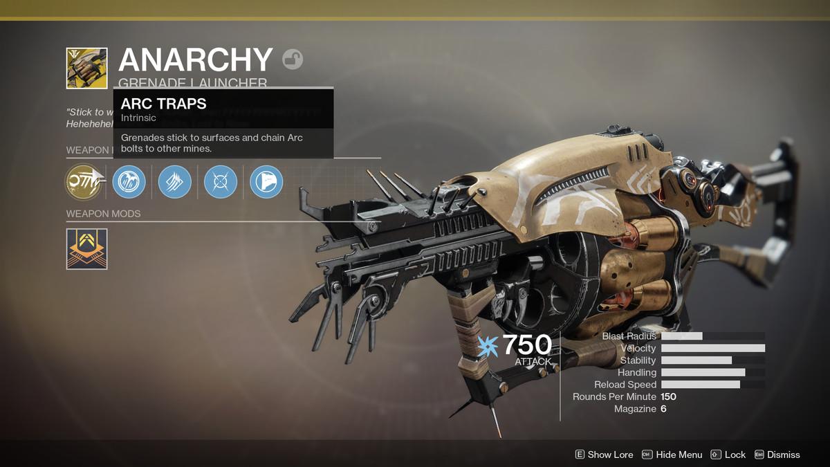 Destiny 2 Anarchy
