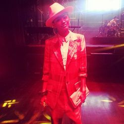 "Singer and former Disney star <a href=""http://www.instagram.com/zendayamaree"">Zendaya</a>'s menswear-inspired look was next-level."