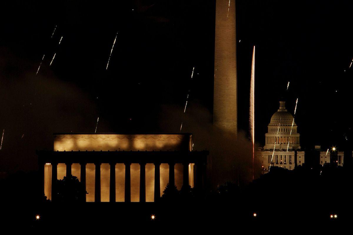 Fireworks Illuminate The Nation's Capitol