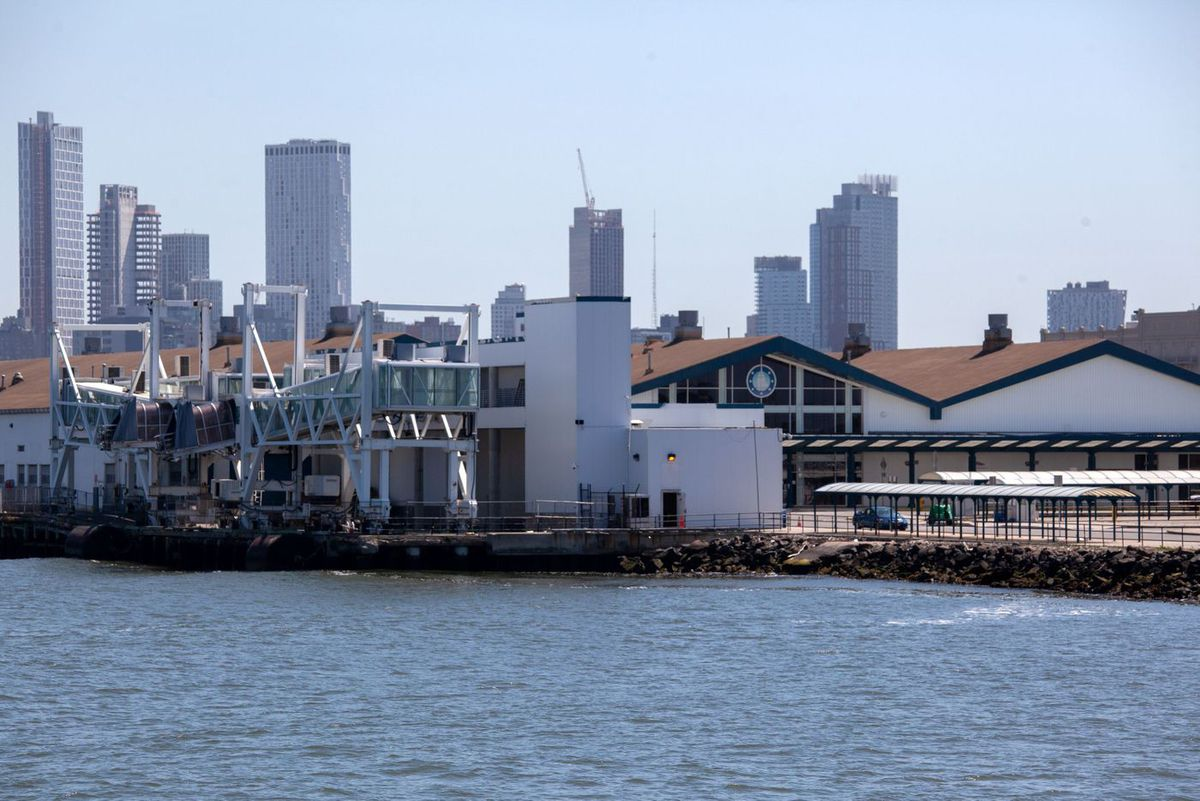 The state was supposed to set up a field hospital in the Brooklyn Cruise Terminal during the coronavirus outbreak.