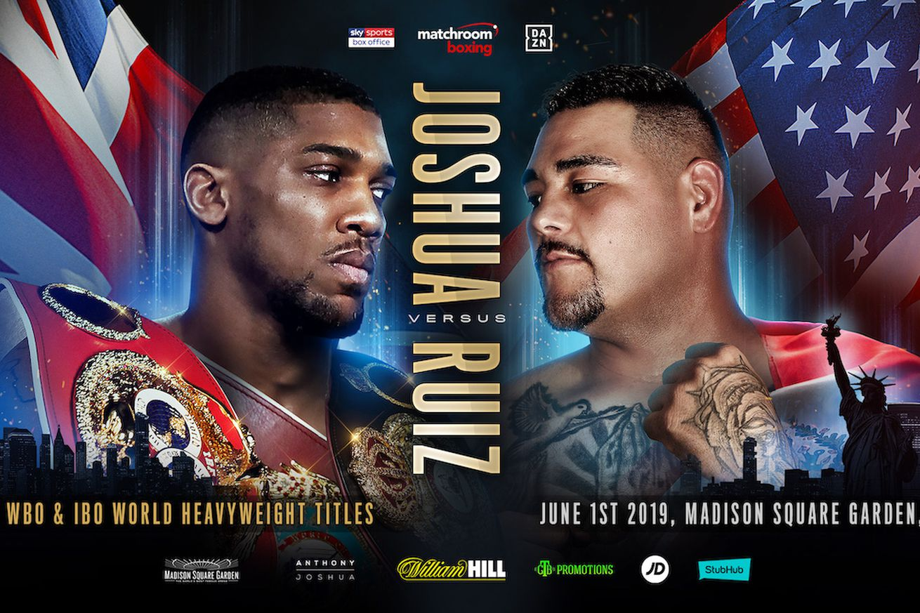 Twitter 2 1.0 - Roundup (May 2, 2019): Joshua-Ruiz finally official, Canelo-Jacobs updates, more