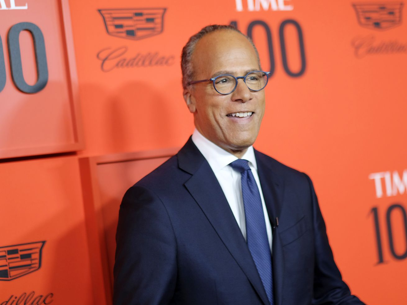 Lester Holt attends the TIME 100 Gala Red Carpet at Jazz at Lincoln Center on April 23, 2019 in New York City.