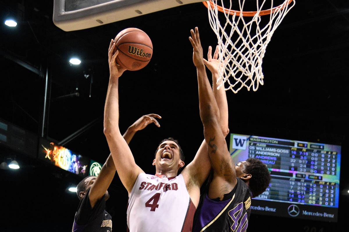 Stanford big Stefan Nastic is coming off a 21-point outing against Washington heading into their second round Pac-12 tournament game against the No. 17 Runnin' Utes.