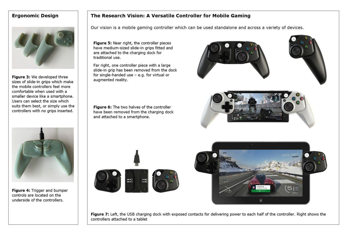 Microsoft's prototype Xbox controllers for phones look ideal
