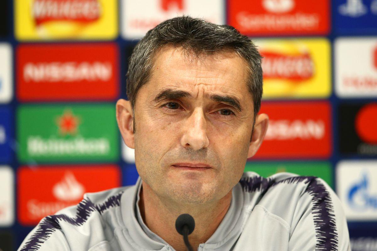 Barcelona Training & Press Conference