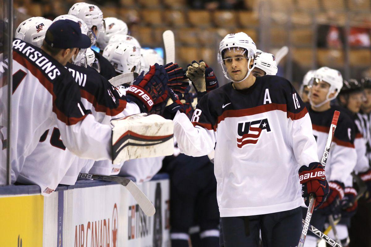 Slovakia v United States - 2017 IIHF World Junior Championship - Preliminary Round - Group B