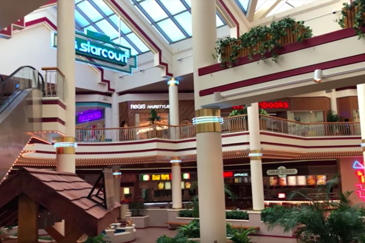 Stranger Things 3's Starcourt Mall is actually a real dead mall - Curbed