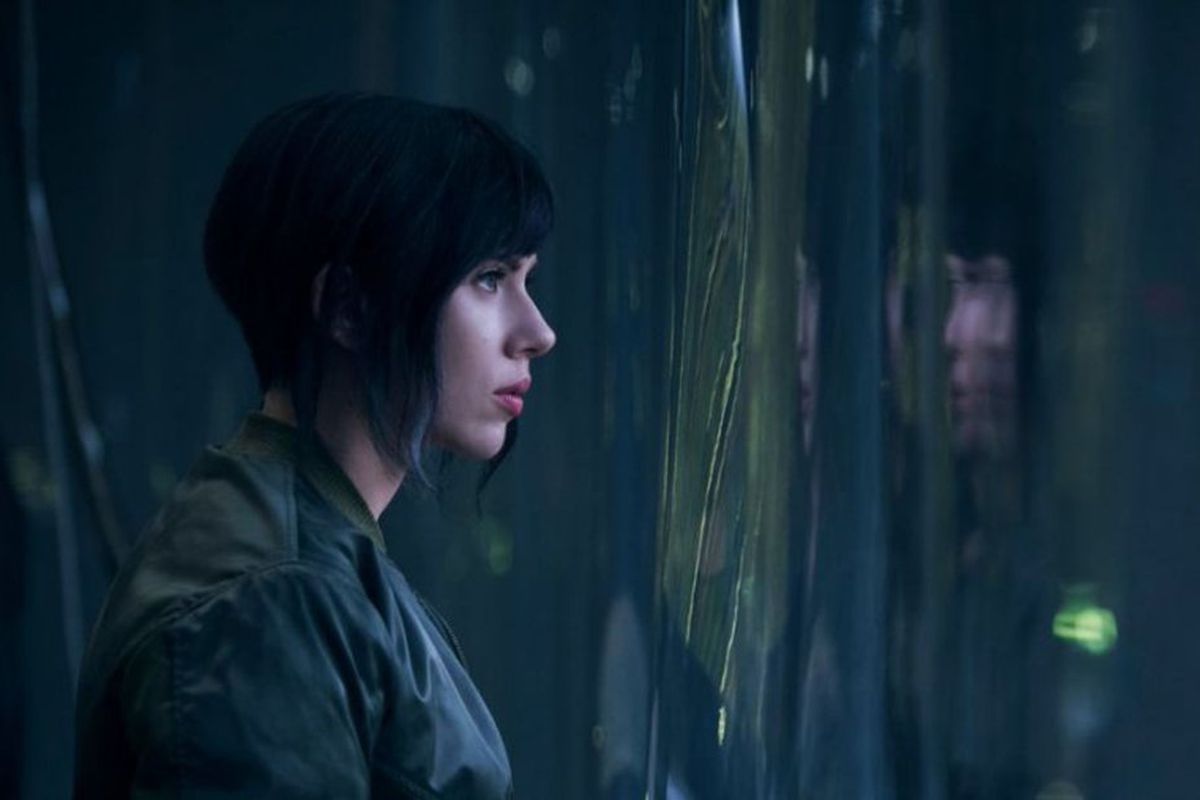 Ghost in the Shell.
