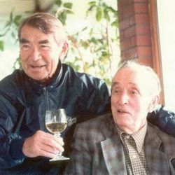 Andre Tchelistcheff and Dr. Konstantin Frank. Tchelistcheff is perhaps the most important figure in post-Prohibition American winemakers. He set the standard for California Cab during his time at BV. Dr. Konstanin Frank was a winemaker and viticulturalist