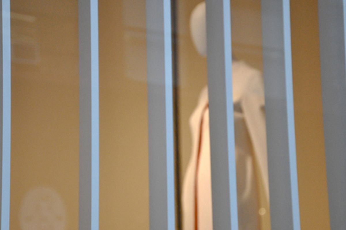 "Jil Sander in Soho via <a href=""http://www.flickr.com/photos/essgee/3868974391/in/pool-rackedny"">EssG</a>/Racked Flickr Pool"