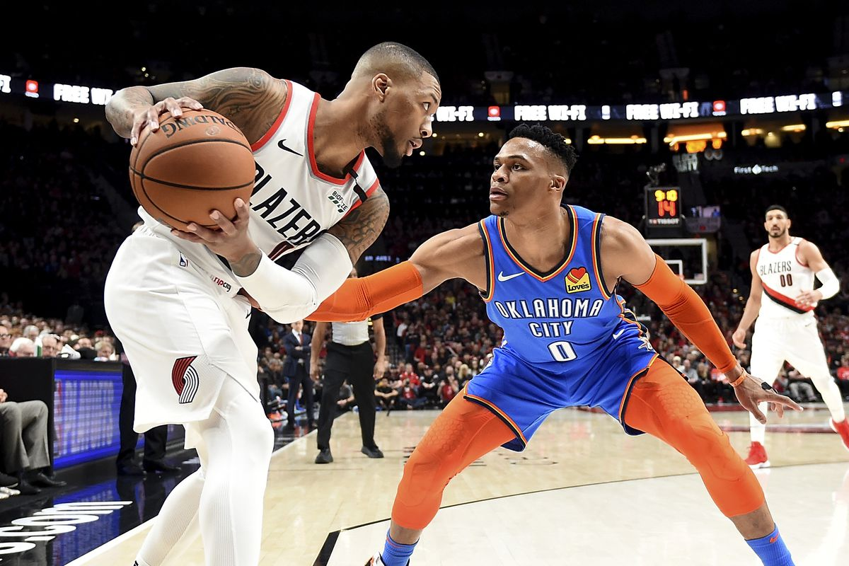 the latest 7d7d9 daed5 Trail Blazers  Harkless  Neither Lillard or Westbrook will  Back Down