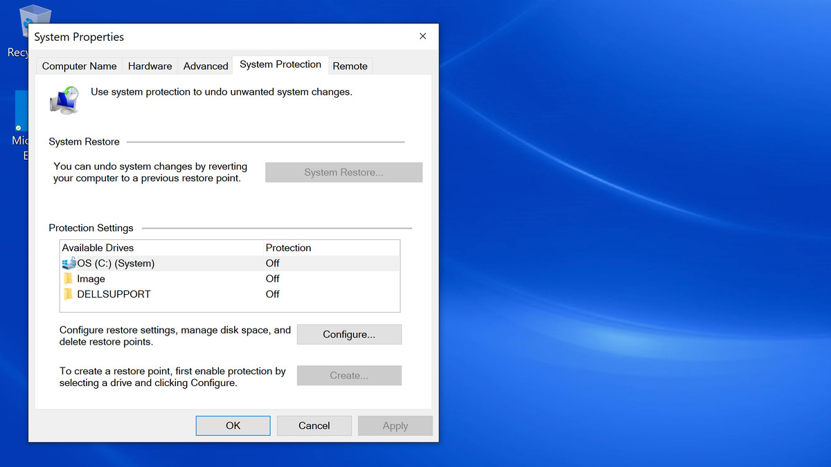 Windows 10 basics: how to use System Restore to go back in time - The Verge