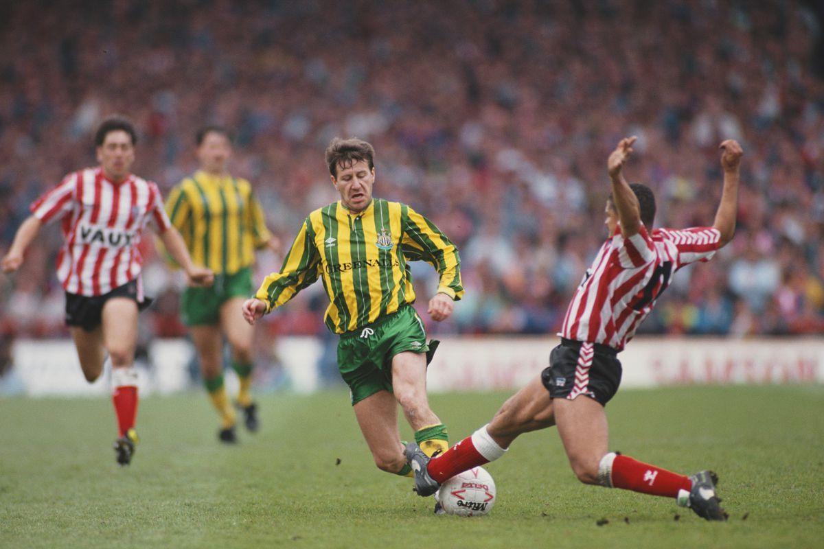 Sunderland v Newcastle United Divison Two Play Off Semi Final 1990