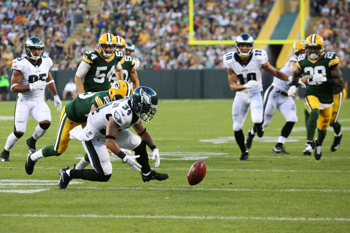 NFL: AUG 10 Preseason - Eagles at Packers