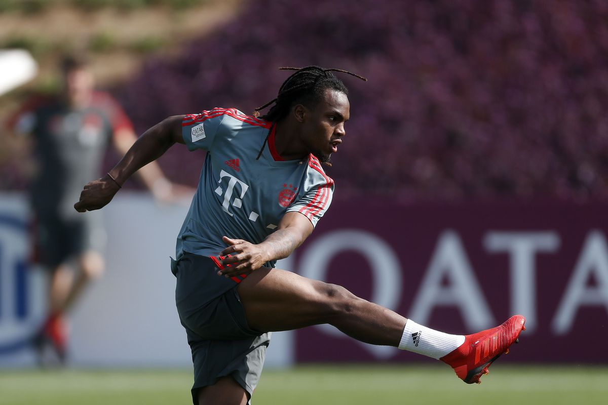 Renato Sanches of Bayern Munchen during the training camp of Bayern Munchen at the Aspire Academy on January 09, 2019 in Doha, Qatar.