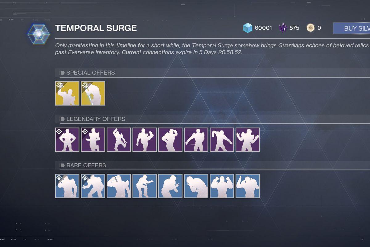 Destiny 2 - Temporal Surge