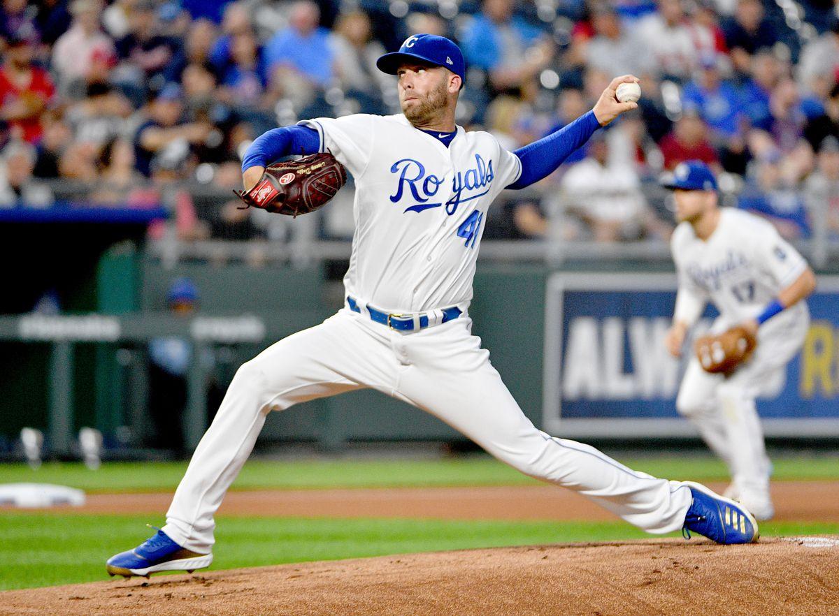 MLB: Atlanta Braves at Kansas City Royals