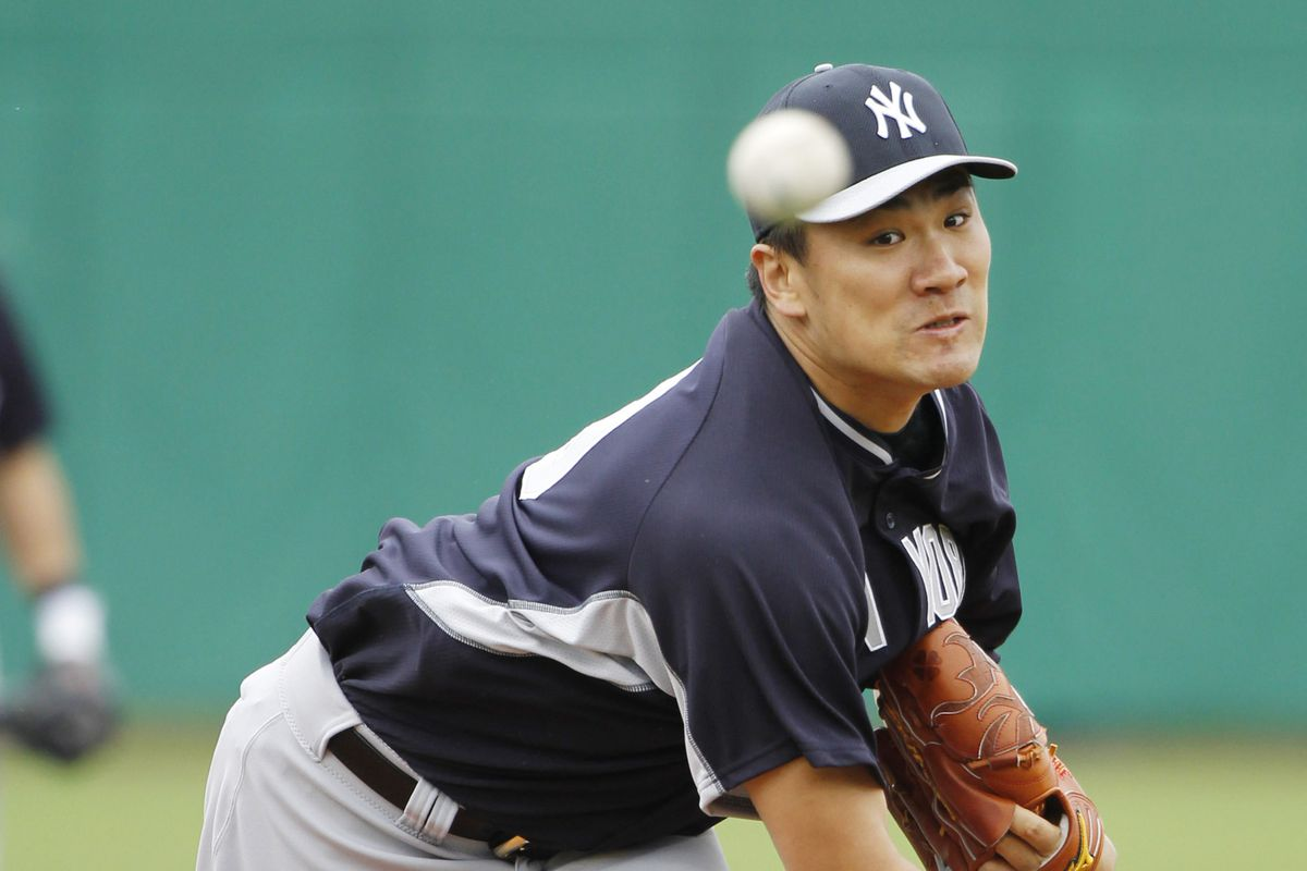 Masahiro Tanaka pitched well but was tagged by Freddy Galvis.