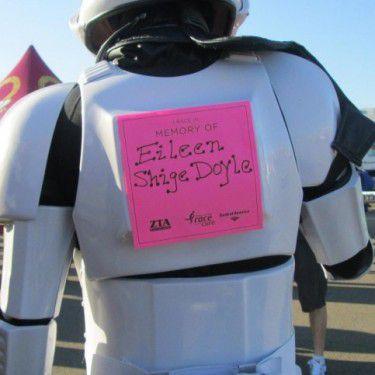 Stormtrooper cancer walk