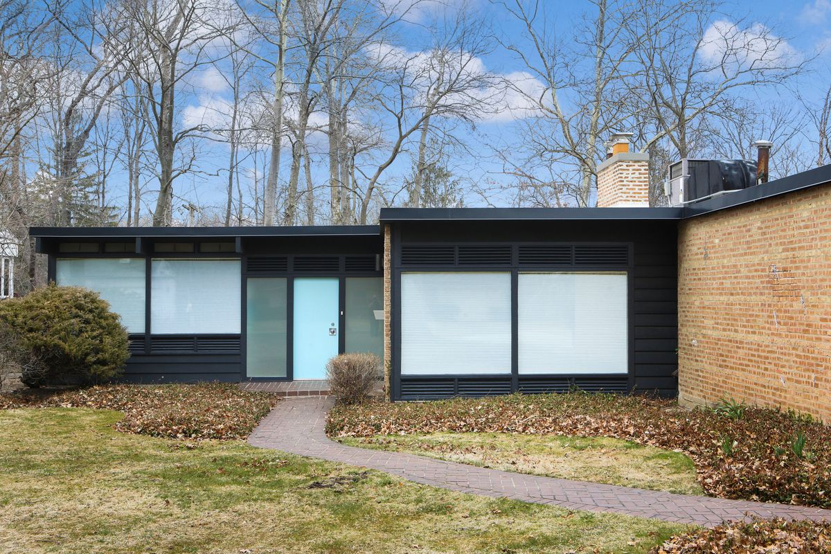 For sale George Keck midcentury ranch in Glencoe - Curbed Chicago