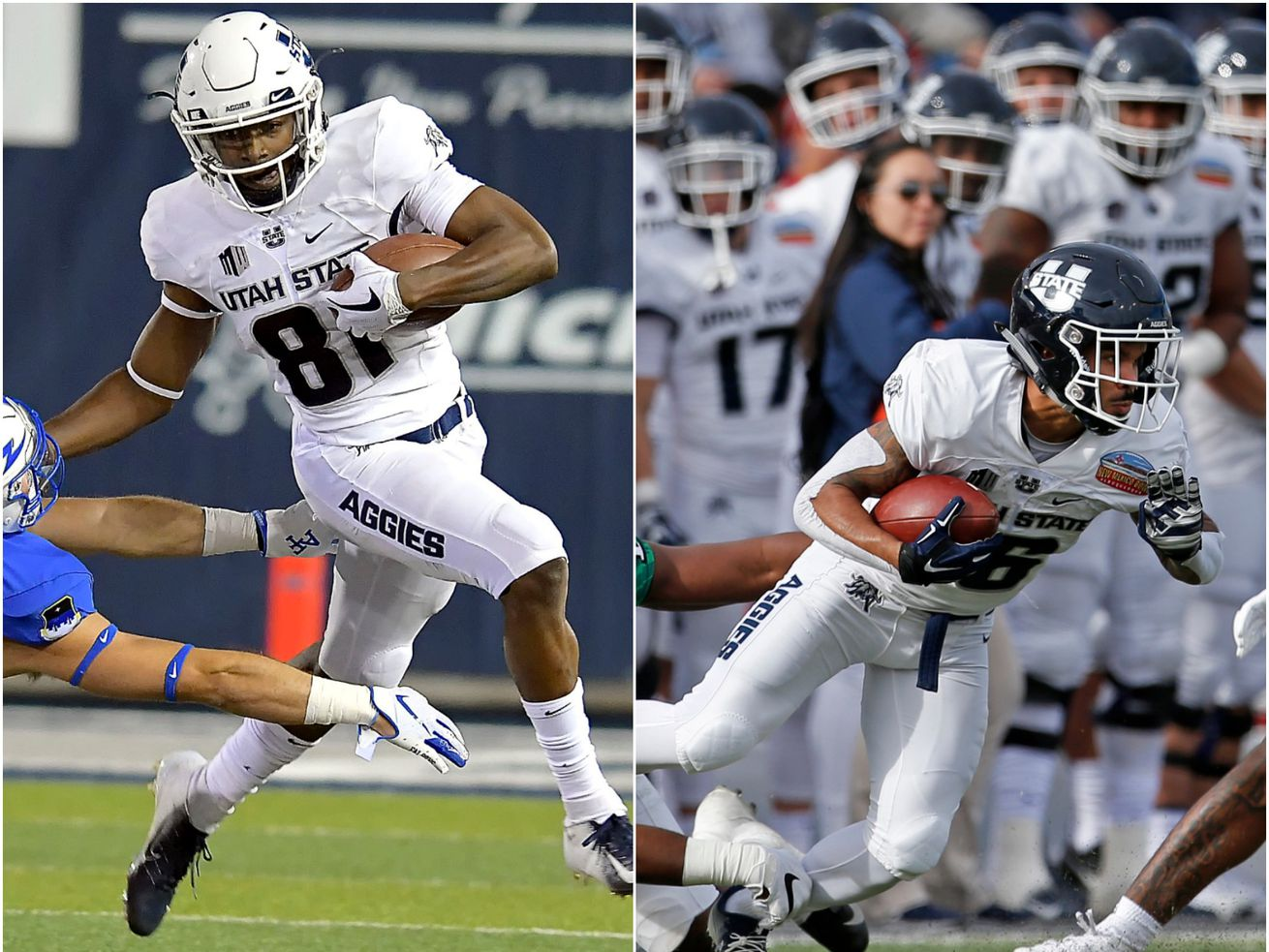Inside the approach of Utah State's elite return specialists, Savon Scarver and Jordan Nathan