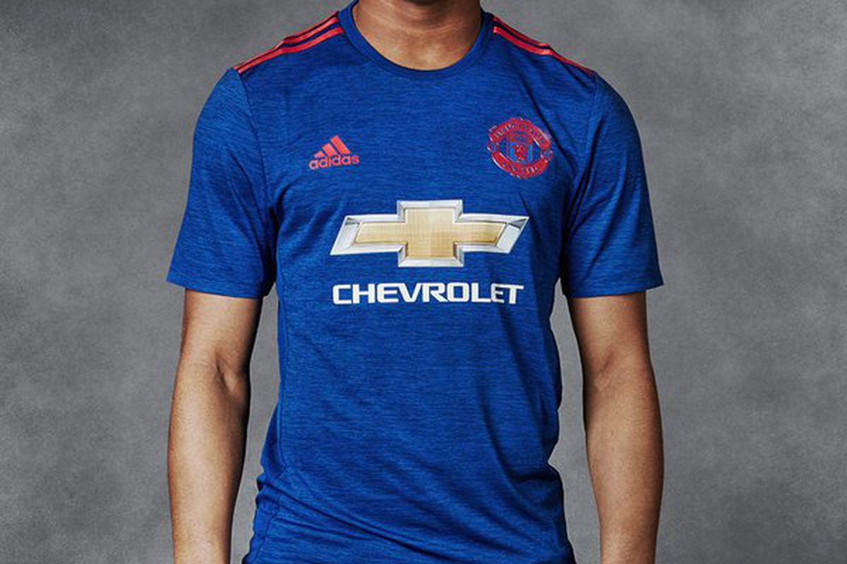 timeless design 5afdf 09628 Manchester United reveal new away kit - The Busby Babe