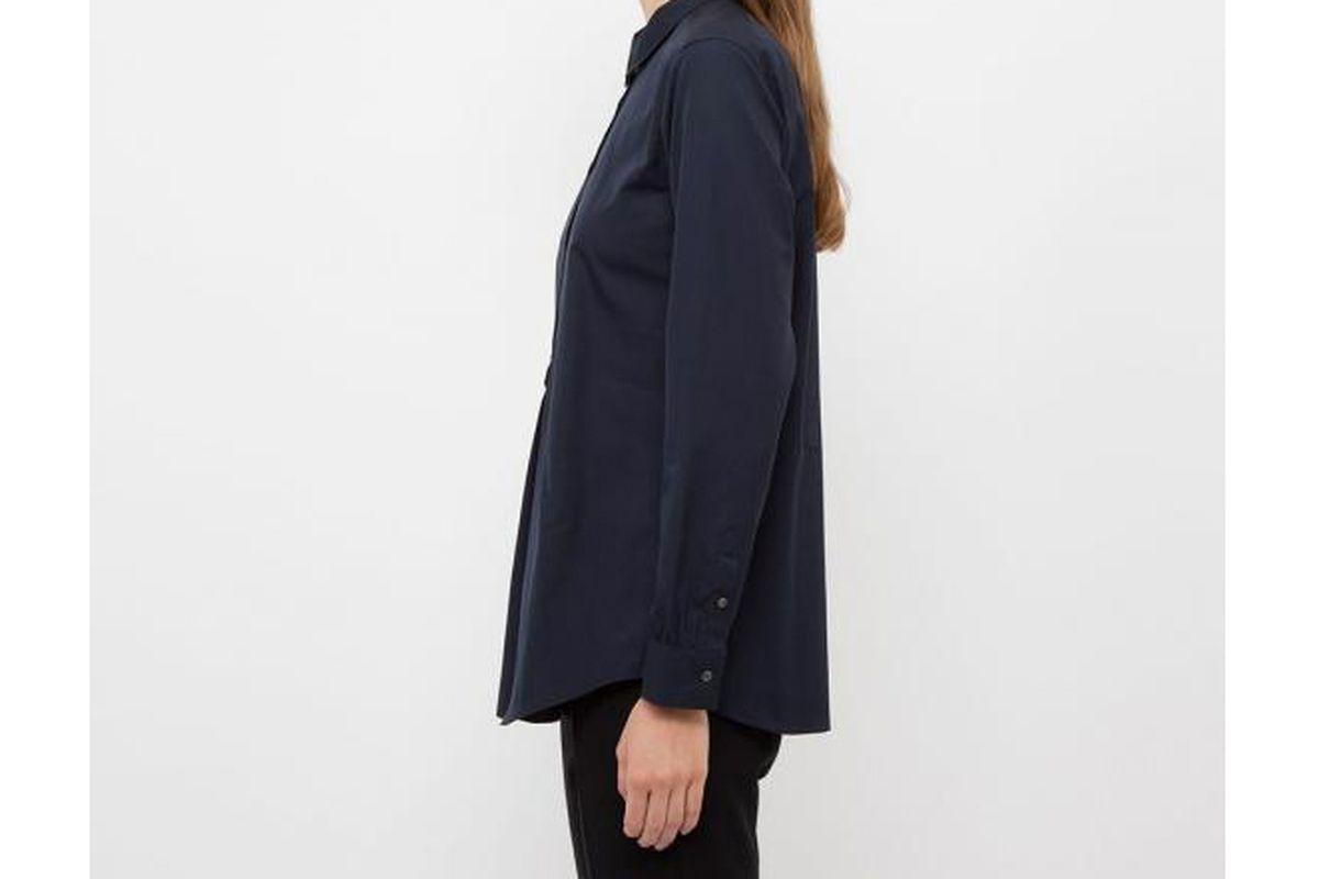 "Photo: <A href=""http://www.uniqlo.com/sg/store/women-j-extra-fine-cotton-half-placket-long-sleeve-shirt-1353260019.html#more_views"">Uniqlo</A>"