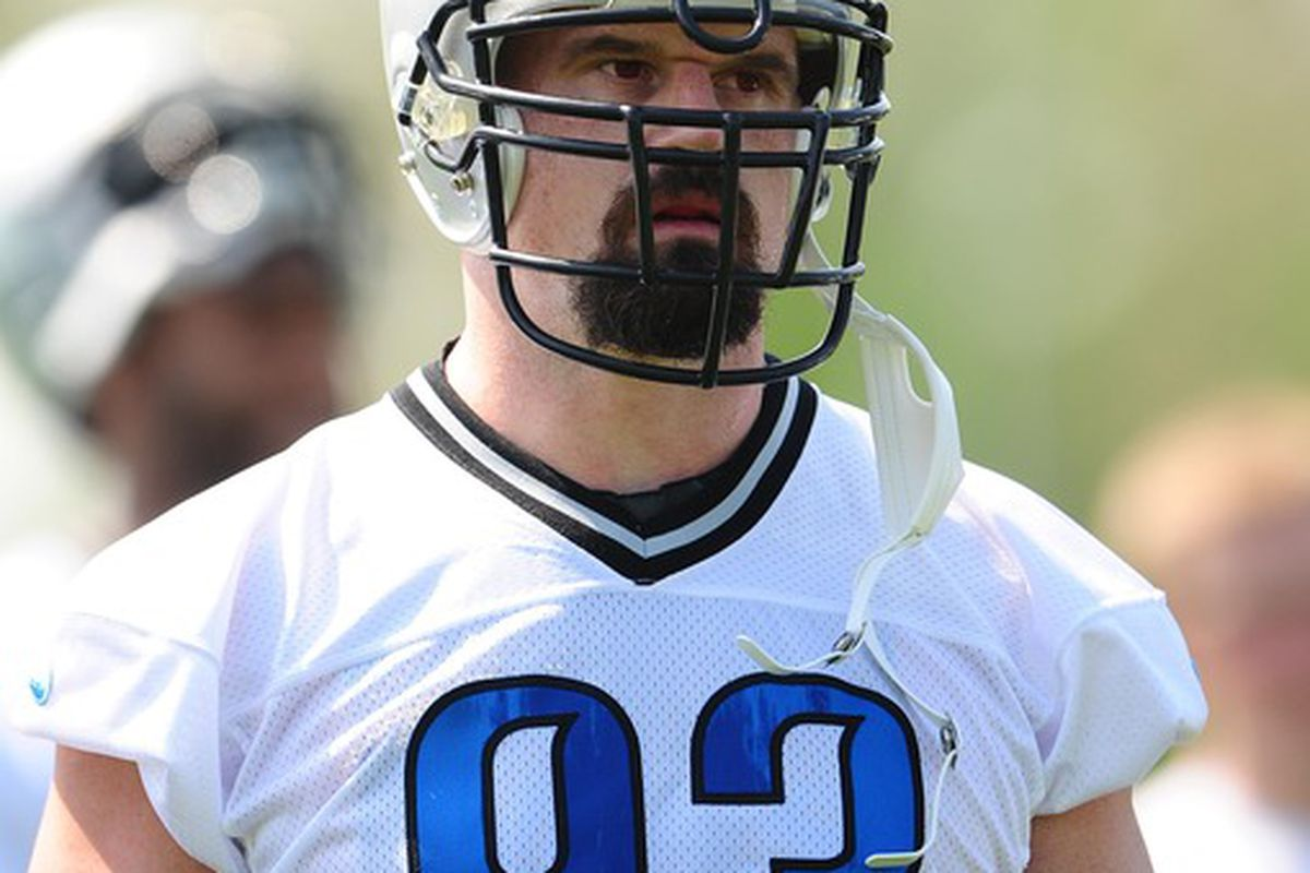 Kyle Vanden Bosch Returns To Lions Practice On Limited Basis Pride