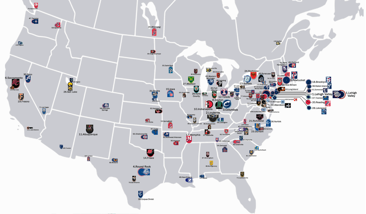 40 maps and charts that explain sports in America - Vox