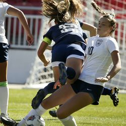 Skyline vs. Bonneville in the 5A state championship game at Rio Tinto Stadium in Sandy on Friday, Oct. 25, 2019.