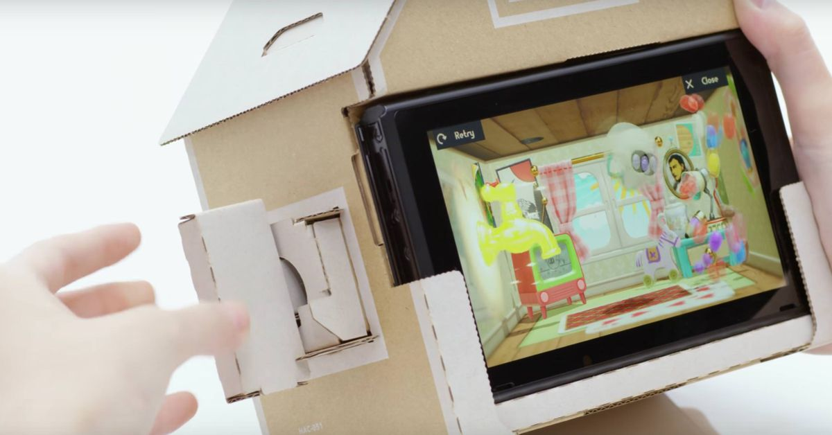 Nintendo reveals Labo, a DIY 'build-and-play experience' for Switch