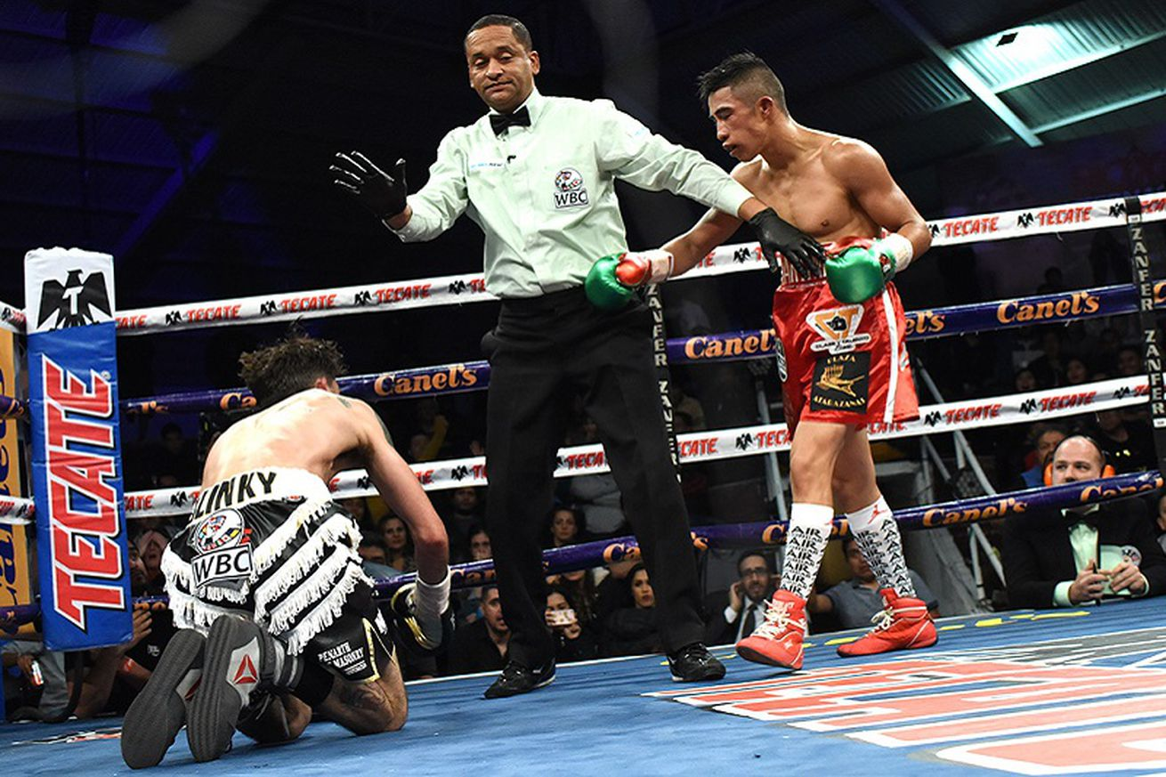 martinez selby.0 - Martinez knocks out Selby in WBC eliminator