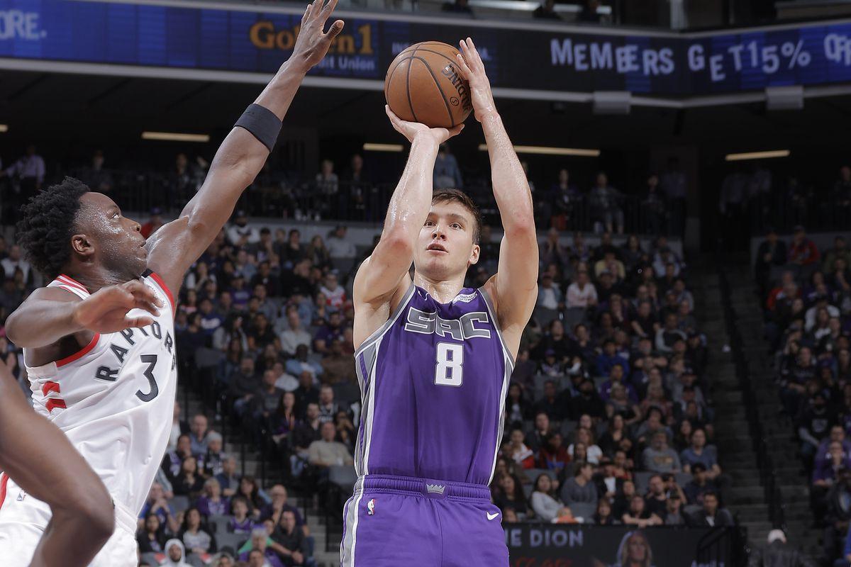 Toronto Raptors v Sacramento Kings