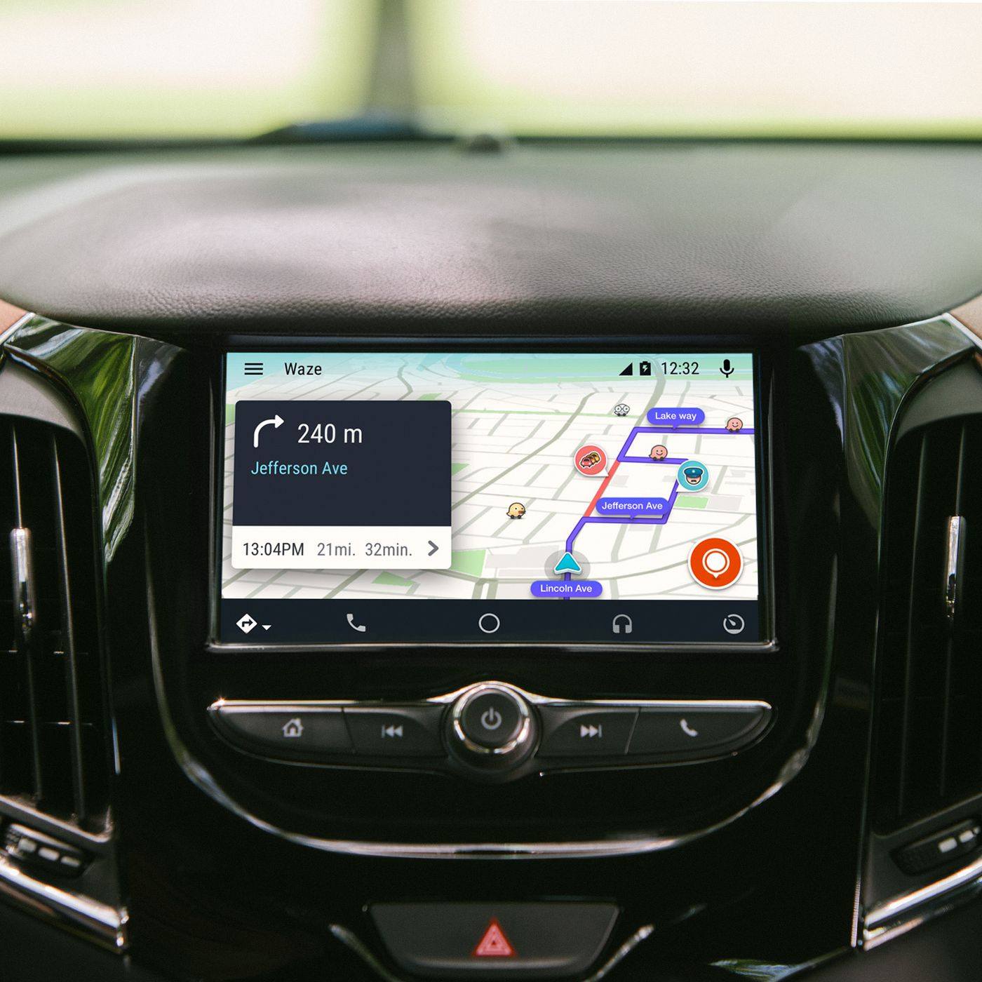 Waze arrives on Android Auto - The Verge