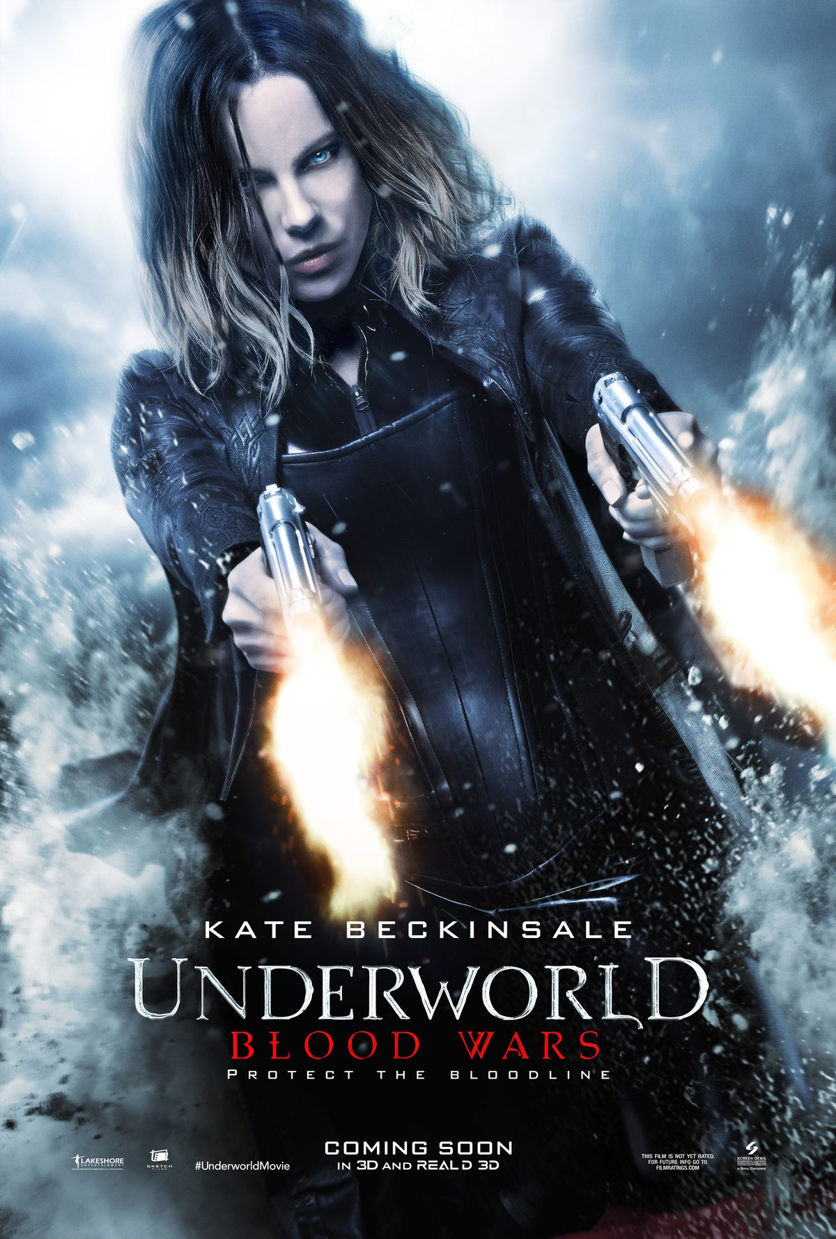 A poster for Underworld: Blood Wars