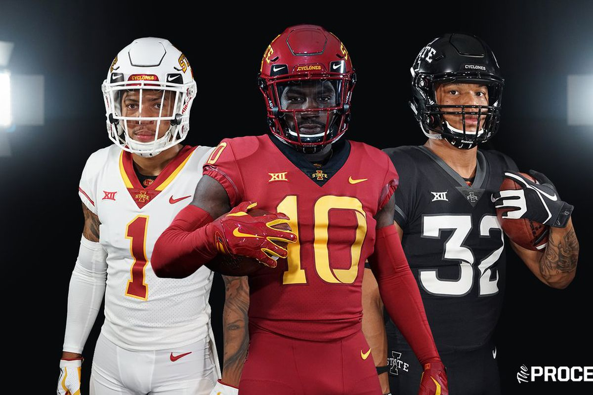 reputable site 6d273 a36d5 Iowa State Releases New Football Uniforms - Wide Right ...