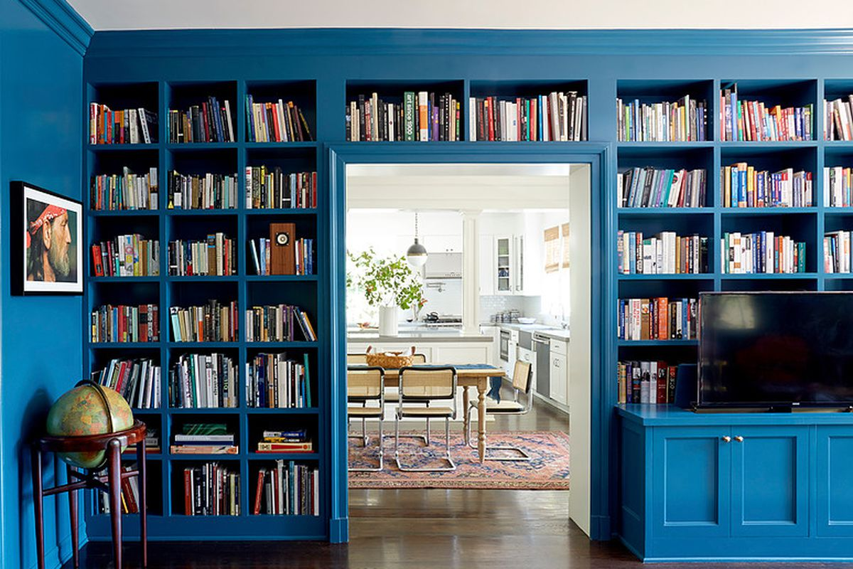 Interior Designer Taylor Jacobson Likes To Use Blue Because Of Its Flexibility