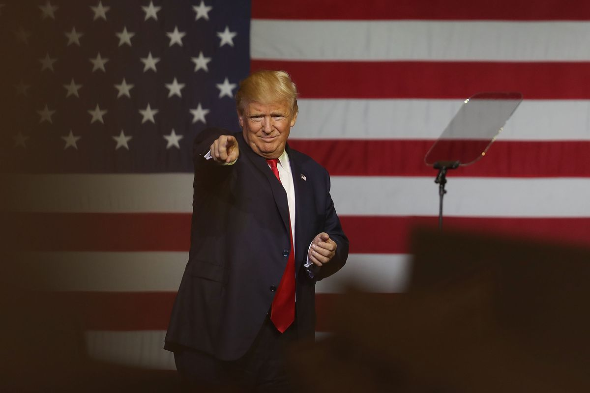 Trump Holds Campaign Event In West Palm Beach, Florida