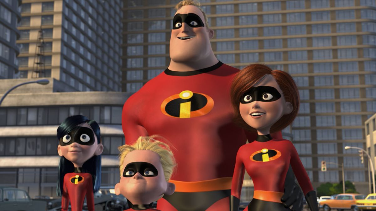 The characters from The Incredibles