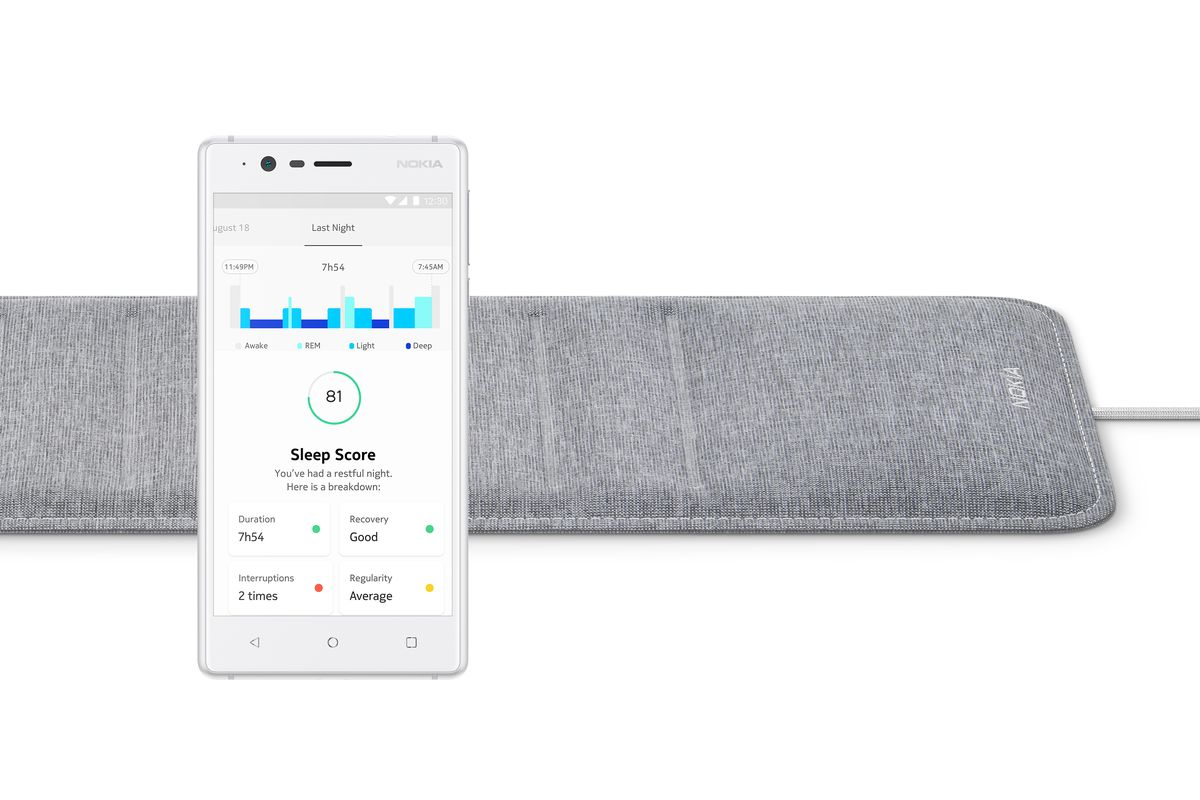 CES 2018: Nokia's new tech can track your sleep and snoring pattern