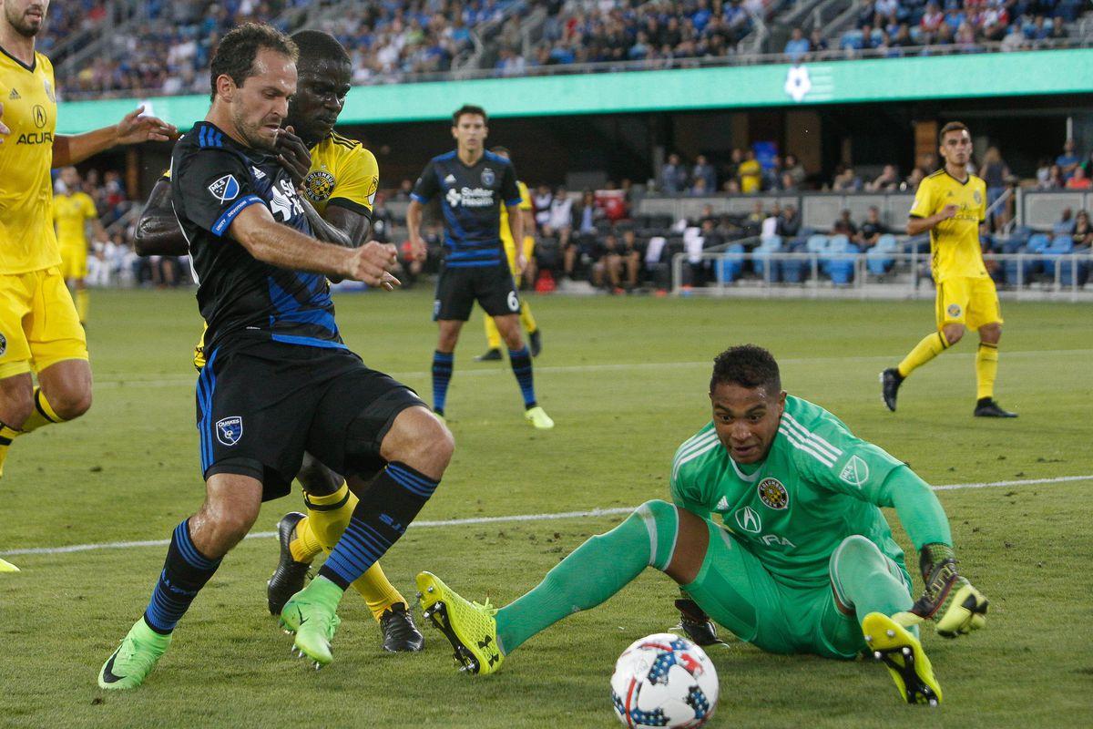 MLS: Columbus Crew SC at San Jose Earthquakes
