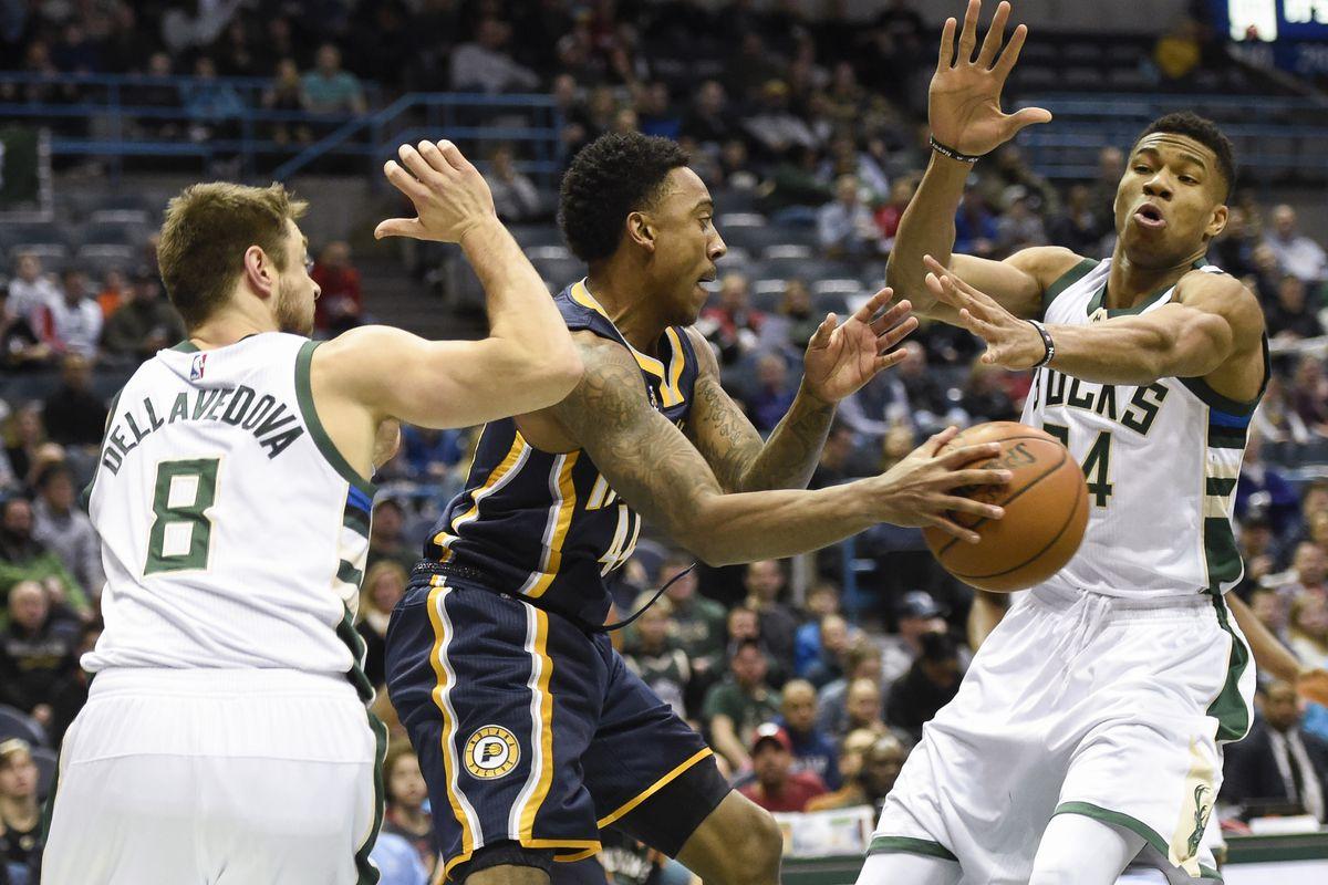 NBA: Indiana Pacers at Milwaukee Bucks