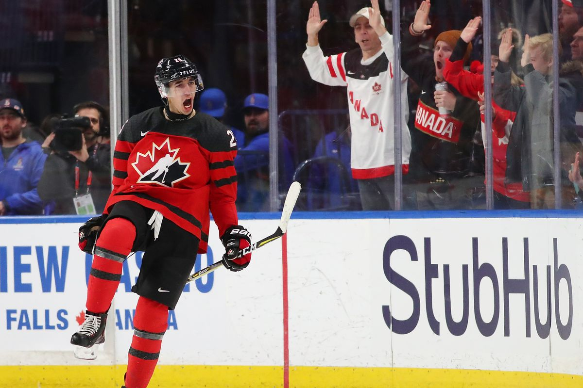 Canada Vs Sweden World Juniors 2018 How To Watch The Gold Medal Match Sbnation Com