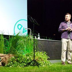 Daniel Boulud introduces Rasmus Kofoed, of Copenhagen's Geranium and Bocuse d'Or fame