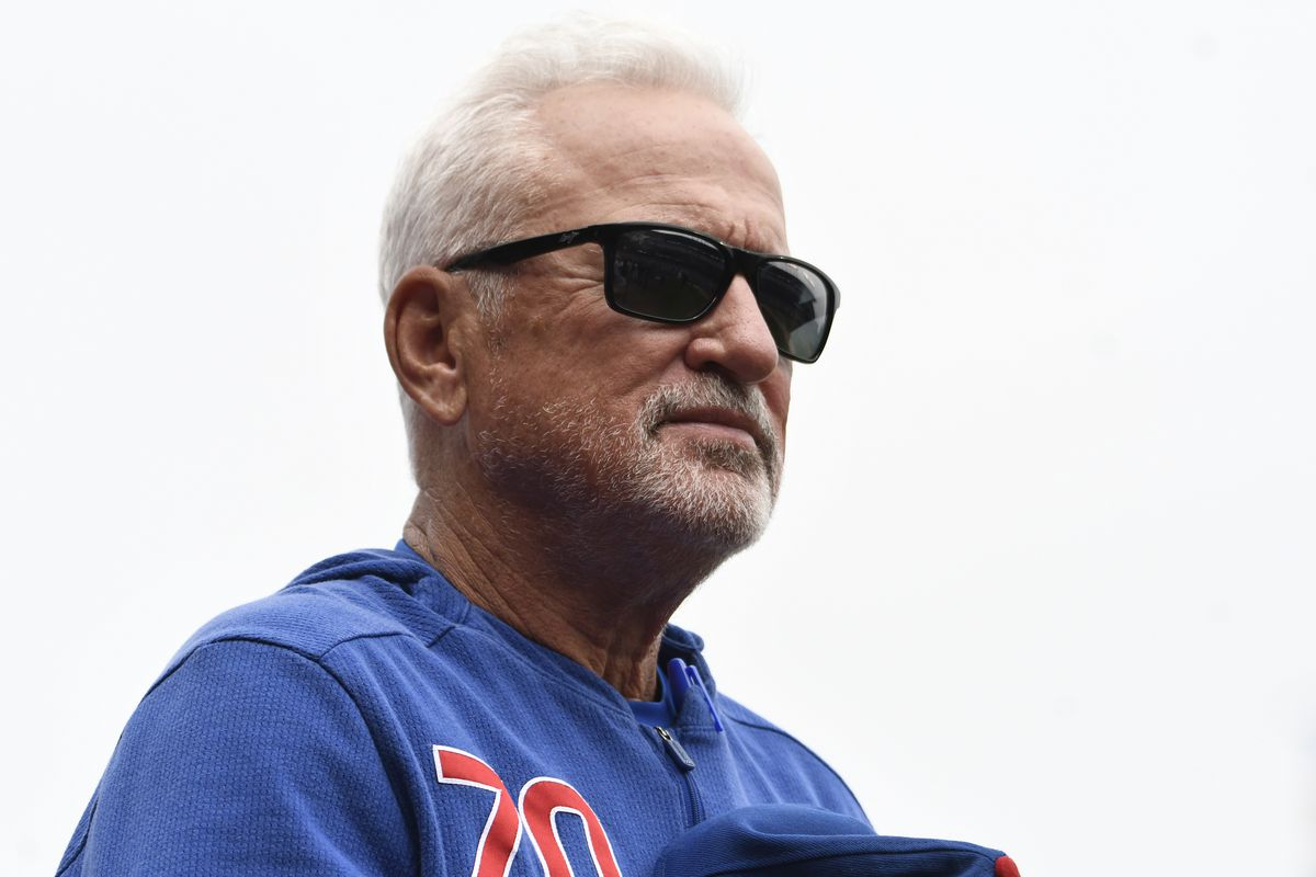 Beware shouting fire (the manager) in a crowded playoff race, especially if you're the Cubs